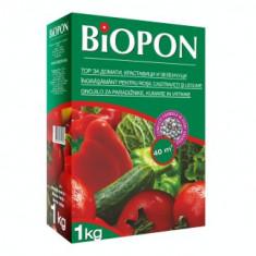 BIOPON ingrasamant pentru rosii, castraveti si legume 1kg