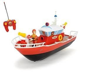 Barca cu telecomanda pompierul Sam, Dickie Toys