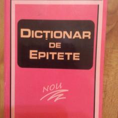 DICTIONAR DE EPITETE - MARIN BUCA - Dictionar sinonime