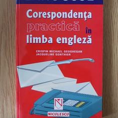 CORESPONDENTA PRACTICA IN LIMBA ENGLEZA- GONTHIER - Curs Limba Engleza