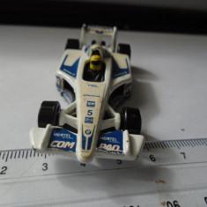 Bnk jc McDonalds Hot Wheel Mattel 2001 - masina formula 1 - McDonalds jucarie