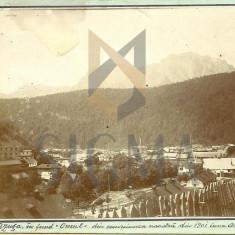 CARTE POSTALA, AZUGA, VEDERE SPRE OMU, 1901