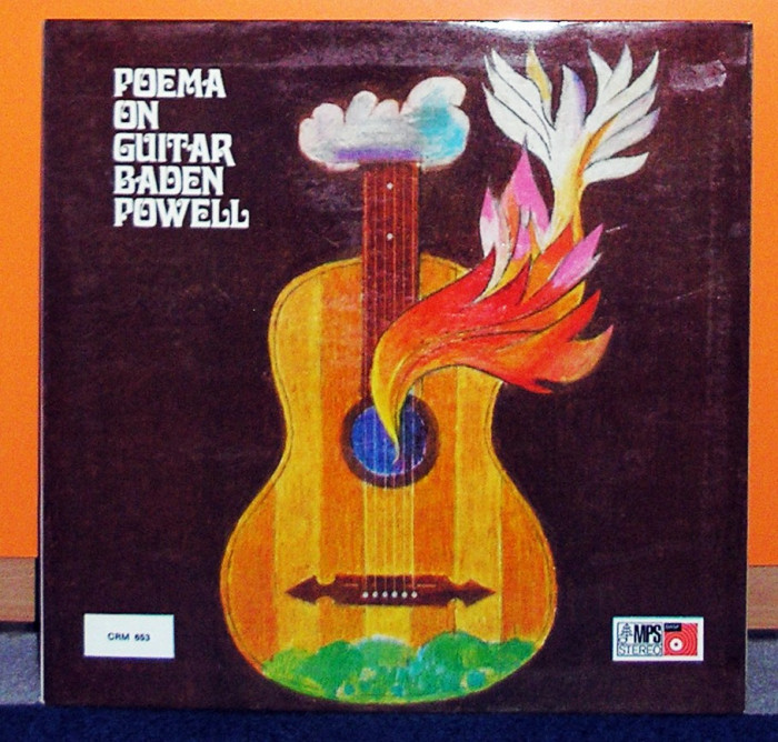 Baden Powell - Poema on Guitar, GER, FOC, VG+, disc vinyl vinil foto mare