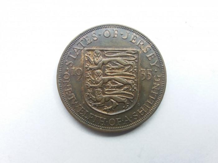 Jersey 1/12 shilling 1935