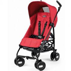 Carucior Pliko Mini 2016 Red - Carucior copii 2 in 1 Peg Perego