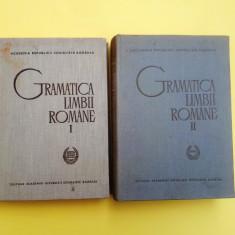 GRAMATICA LIMBII ROMANE - 2 VOLUME = AN 1966 = EDITURA ACADEMIEI - Culegere Romana