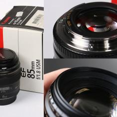 Vand Canon 85mm F/1, 8 - Obiectiv DSLR