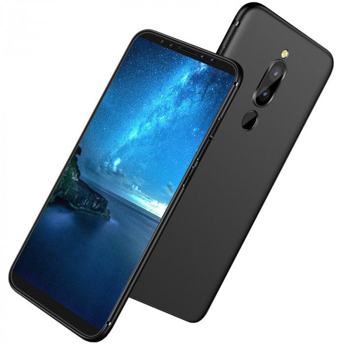 Husa silicon slim pentru Huawei Mate 10 Lite, Negru