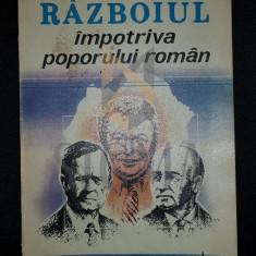 ZAMFIRESCU DAN (Dedicatie si Autograf!) - IMPOTRIVA POPORULUI ROMAN, 1993, Bucuresti