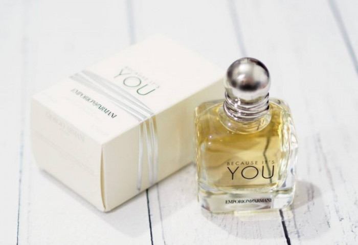 Parfum Original Emporio Armani - Because It's You + Cadou foto mare