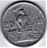 20 lei 1951   VF+  RPR (16), Aluminiu