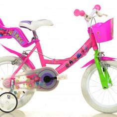 Bicicleta Trolls 144R TRO - Bicicleta copii Dino Bikes