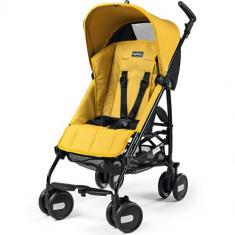 Carucior Pliko Mini 2016 Yellow - Carucior copii 2 in 1 Peg Perego