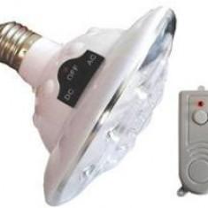 Bulb Lanterna Lampa Bec cu 22 Leduri Si Telecomanda