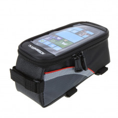 Geanta Si Suport Telefon Pentru Bicicleta Roswheel - Accesoriu Bicicleta