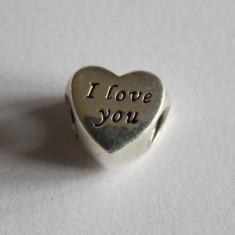 Taliman Pandora din argint -791422-i love you - Bratara argint