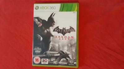 Joc Xbox 360 Batman Arkham City foto