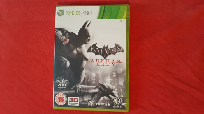 Joc Xbox 360 Batman Arkham City foto mare