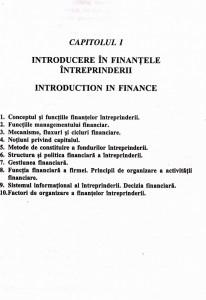 Finantele intreprinderii