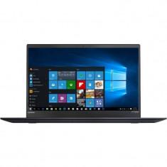 Laptop Lenovo ThinkPad X1 Carbon 5th gen 14 inch FHD Intel Core i5-7500U 8GB DDR3 256GB SSD FPR Windows 10 Pro Black
