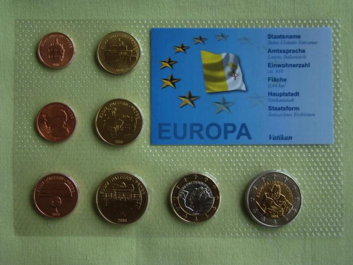 VATICAN - Set Monetar 2006 - PROBE foto mare