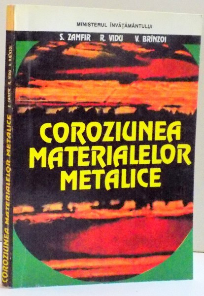 COROZIUNEA MATERIALELOR METALICE , 1994