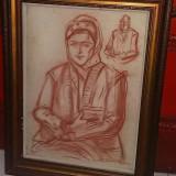Grafica Stefan Dimitrescu, Portrete, Carbune, Altul