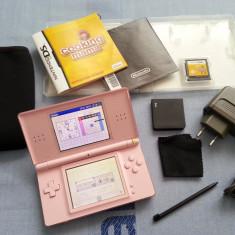 Consola joc Nintendo DS Lite + joc carcasa discheta husa incarcator stylus carpa - Consola Nintendo
