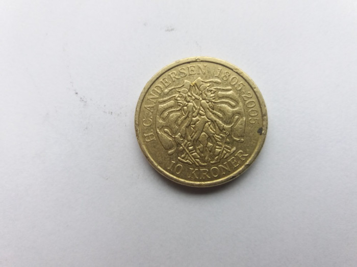 Danemarca 10 coroane 2006