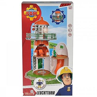 Set de joaca pompierul Sam, far cu accesorii Simba foto