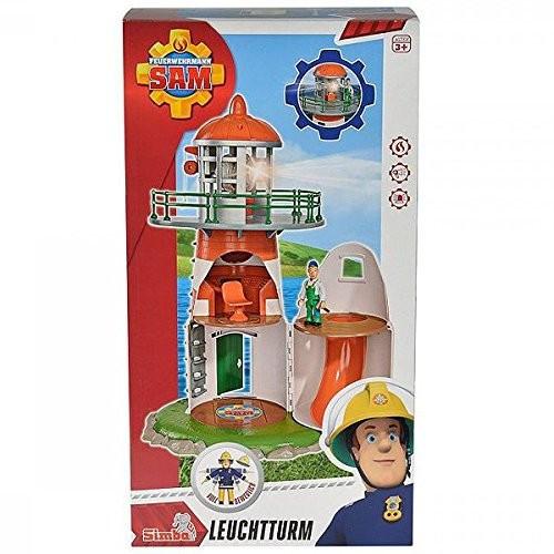 Set de joaca pompierul Sam, far cu accesorii Simba foto mare