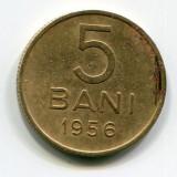 Moneda 5 bani 1956