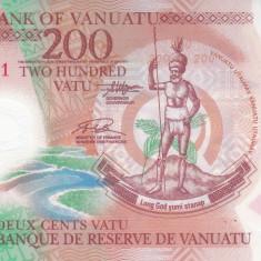 Bancnota Vanuatu 200 Vatu 2014 - P14 UNC ( polimer )