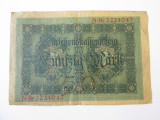 Germania 50 Mark/Marci 1914 lipita cu scoci