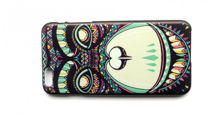 Husa protectie iPhone 6 plus, carcasa spate telefon, model desen foto mare