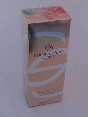 Giordani Gold 50 ml - apă de parfum pentru femei - produs NOU original ORIFLAME foto