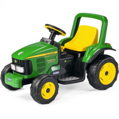Tractor John Deere Power Pull - Masinuta electrica copii Peg Perego