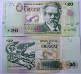 URUGUAY 20 pesos 2015 - UNC