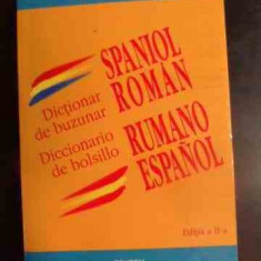Dictionar De Buzunar Spaniol Roman - Ileana Scipione, 541783 - Curs Limba Spaniola