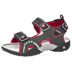 Sandale pentru baieti American Club 245/15, Gri - Sandale copii