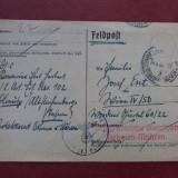 CENZURA MILITARA NAZISTA  PROTECTORAT BOHMEN & MAHREN 24.4.1942