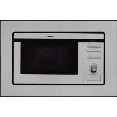 Cuptor cu microunde incorporabil Hansa AMM20BEIH, putere 800 W, capacitate 20 l, grill, inox foto