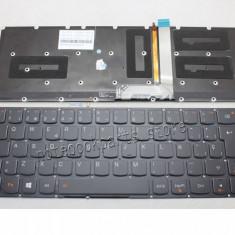 Tastatura Lenovo Ideapad Yoga 3 Pro 1370 SP (UK) iluminata fara rama - Tastatura laptop