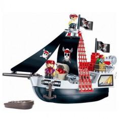 Set Constructii Vas Pirat Ecoiffier