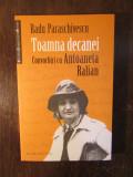 RADU PARASCHIVESCU-TOAMNA DECANEI,CONVORBIRI CU ANTOANETA RALIAN