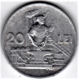 20 lei 1951   VF+  RPR (17), Aluminiu