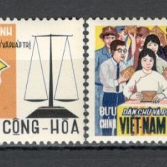 Vietnam de Sud.1969 1 an Constitutia Democratica  SV.334