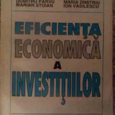 Efitienta Economica A Investitiilor - Colectiv, 539397 - Carte de vanzari