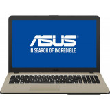 Laptop Asus VivoBook 15 X540NA-GO067 15.6 inch HD Intel Celeron N3350 4GB DDR3 500GB HDD Endless OS Chocolate Black, 4 GB, 500 GB