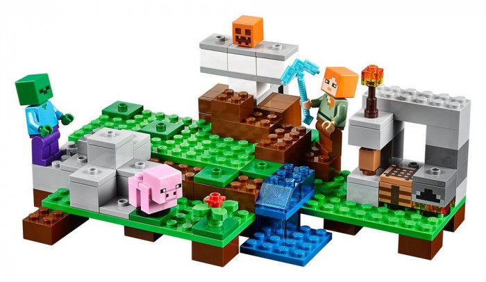 LEGO® Minecraft™ The Iron Golem foto mare